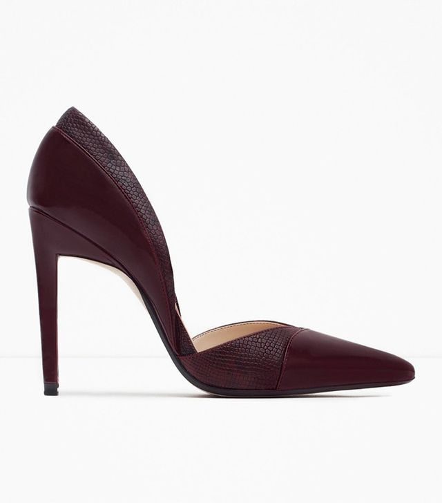 Zara High Heel d'Orsay Shoes