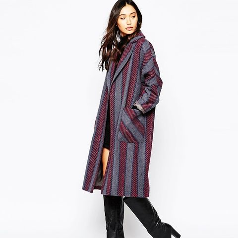 Oversized Edge to Edge Coat