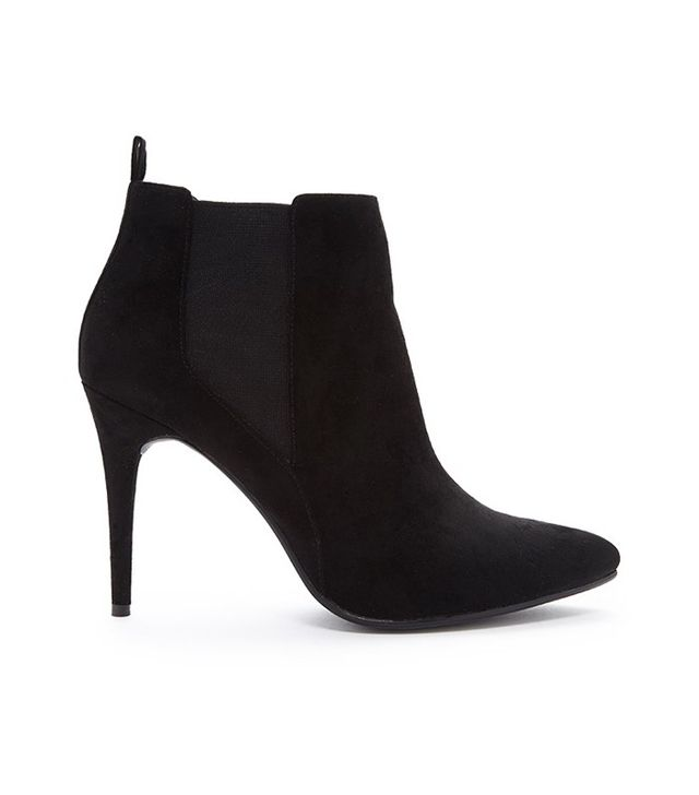 Forever 21 Pointed Faux Suede Booties