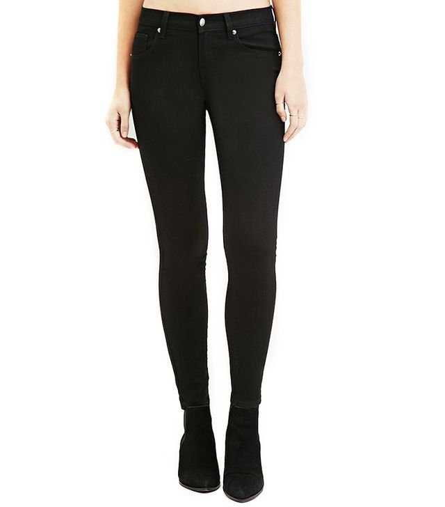 Forever 21 Mid-Rise Skinny Ankle Jeans