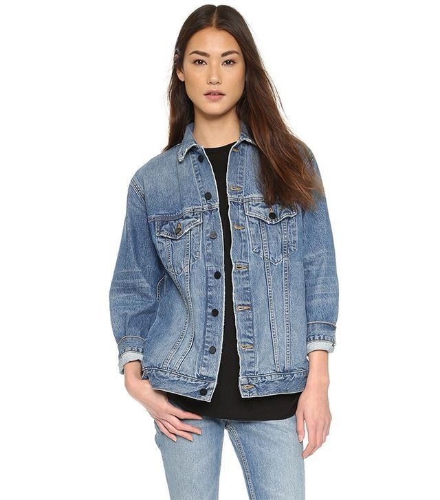 Denim x Alexander Wang Daze Oversized Denim Jacket