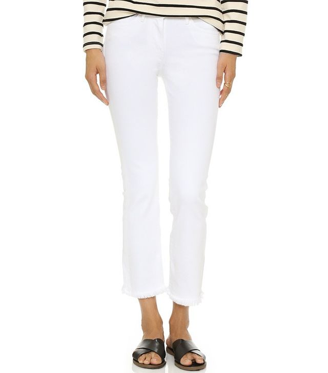 3x1 Cropped Boot Cut Jeans
