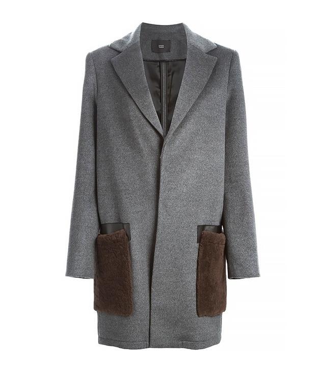 Steffen Schraut Lamb Fur Pocket Coat