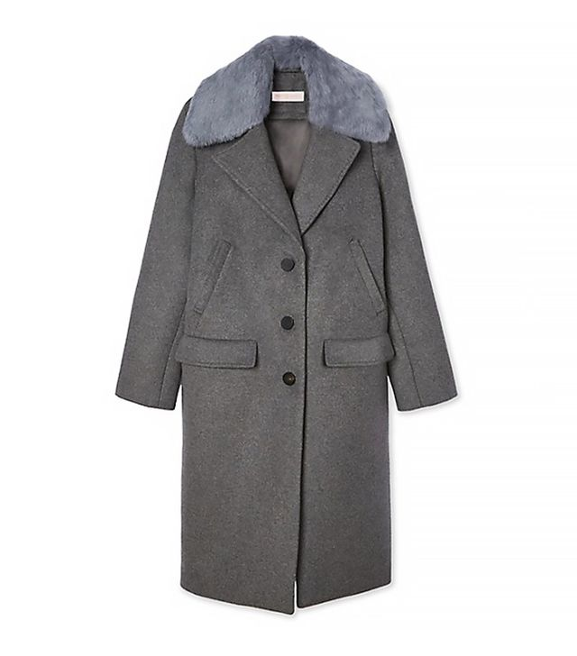 Tory Burch Wool and Cashmere Cocoon Coat