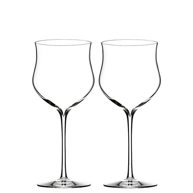 Elegance Rose Wine Glass, Pair