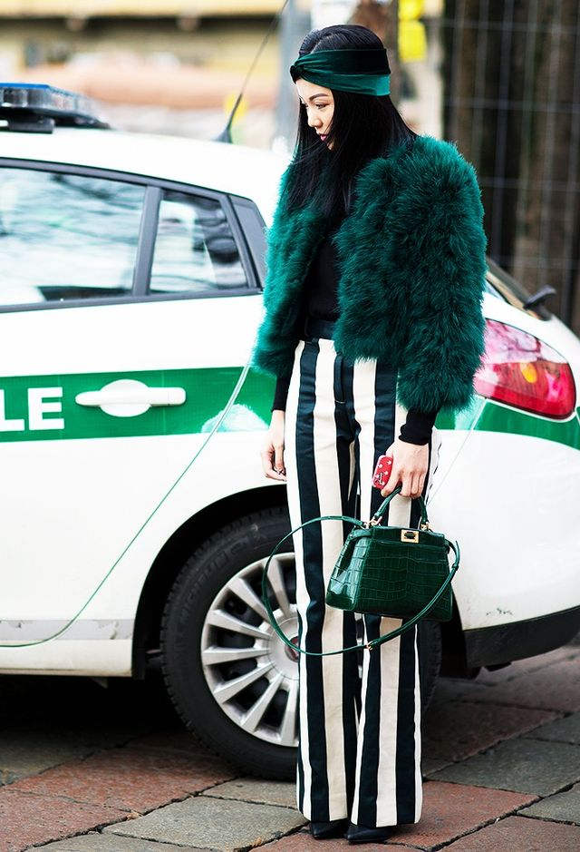Shop colourful faux fur.
