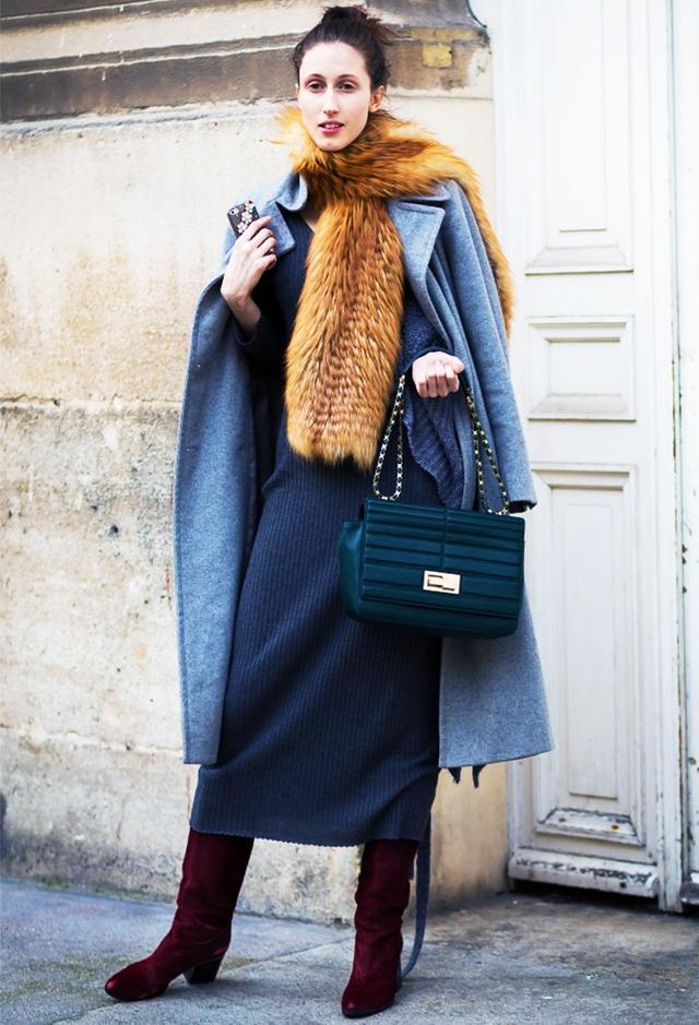 Shop the key piece:H&M Polo-neck Maxi Dress(£30)