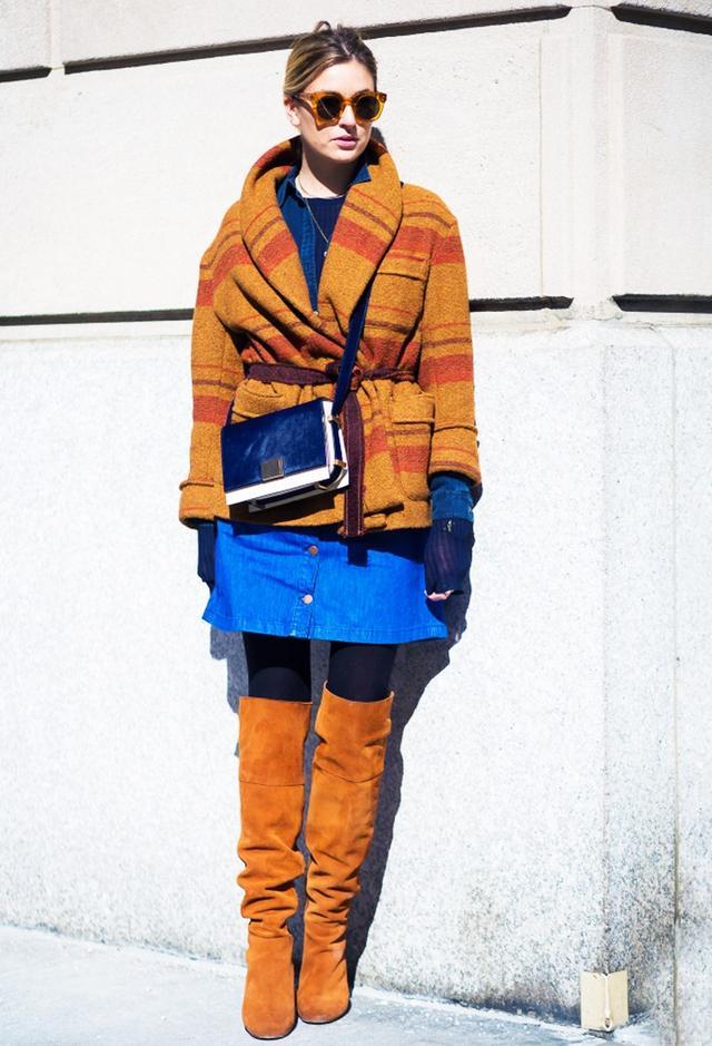 Shop the key piece:Stella McCartney Denim Skirt($£334)