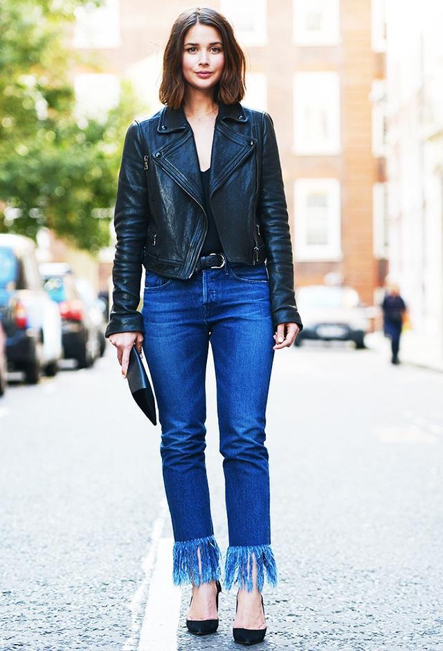 Shop the key piece:3x1 WM3 Crop Selvedge Jeans ($£201)