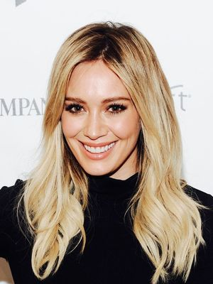 Hilary Duff Just Chopped Her Signature Long Hair