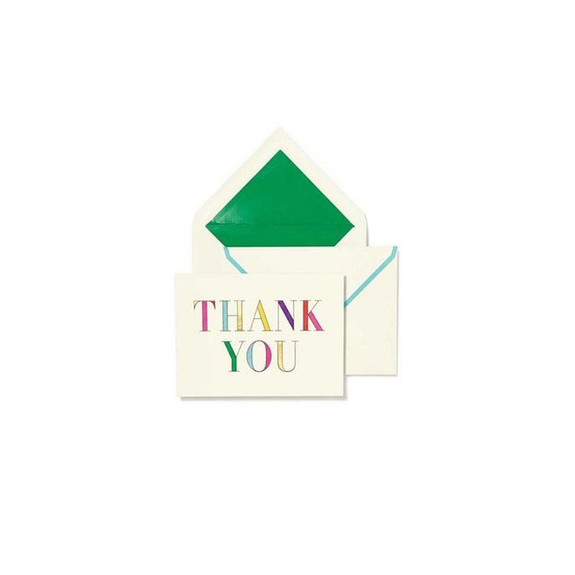 Kate Spade NY Pack of 10 Thank You Cards