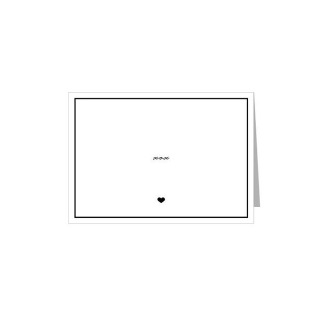More Than Paper Classic XOX Note Card Set Box of 10