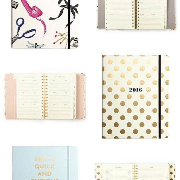 Pretty Planners for an Organised 2016