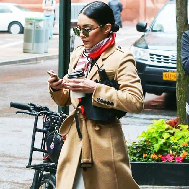The Way to Wear a Camel Coat Like an A-Lister