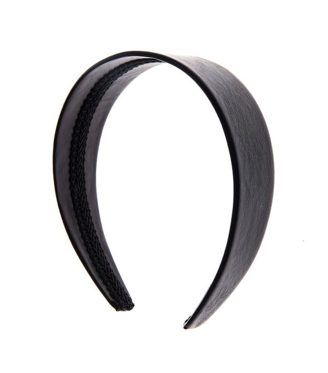Claire's Accessories Leather Look Wide Headband