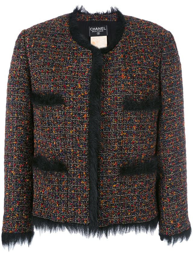 Chanel Vintage Tweed Jacket