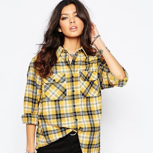 Asos Reclaimed Vintage Oversized Checked Shirt
