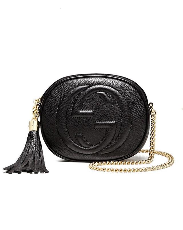 Gucci Soho Leather Mini Chain Bag