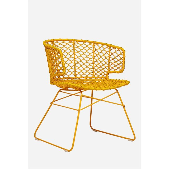 Mustard Breeze Chair