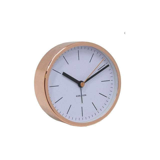 Matt Blatt Copper Alarm Clock