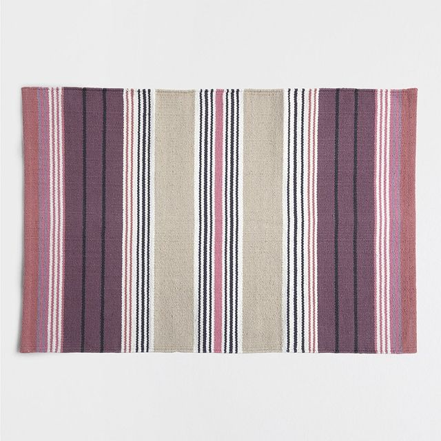 Zara Home Colourful Cotton Rug