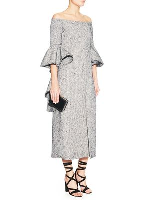 Love, Want, Need: Ellery's Off The Shoulder Dress