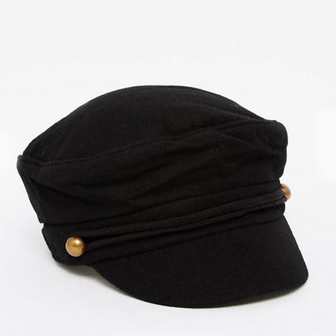 Wool Mix Baker Boy Cap