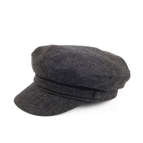 Herringbone Fiddler's Cap