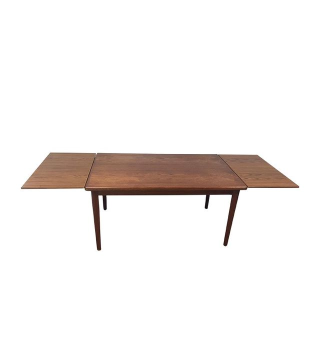 Chairish Danish Teak Extending Dining Table