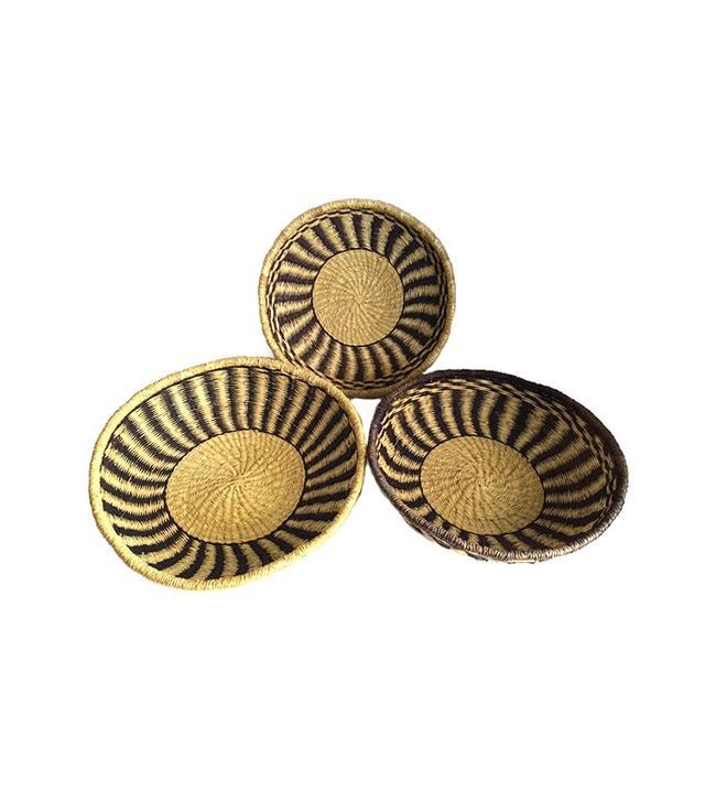 Studio180 Vintage Moroccan Nesting Baskets