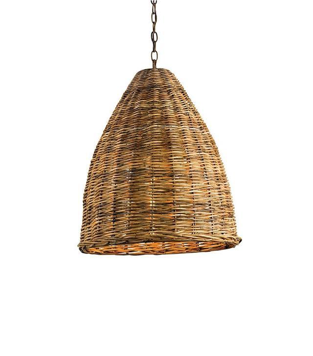 Currey & Company Basket Pendant