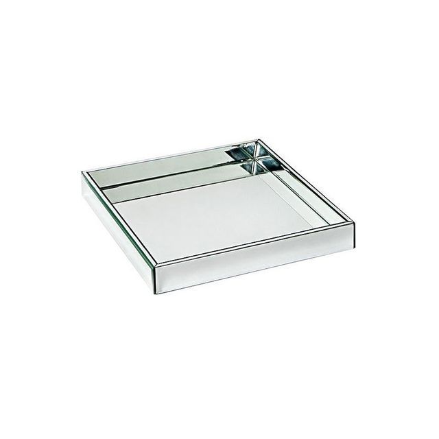 Cafe Lighting Lexington Mirror Tray, Silver
