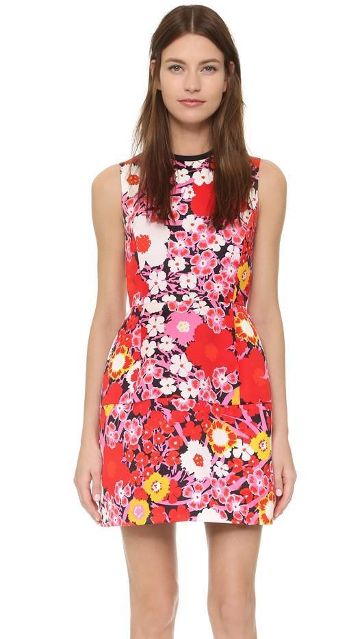 Victoria Victoria Beckham Print Dress