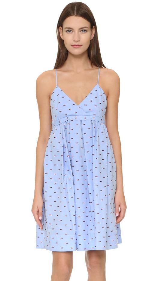 Victoria Victoria Beckham Fold Front Cami Dress