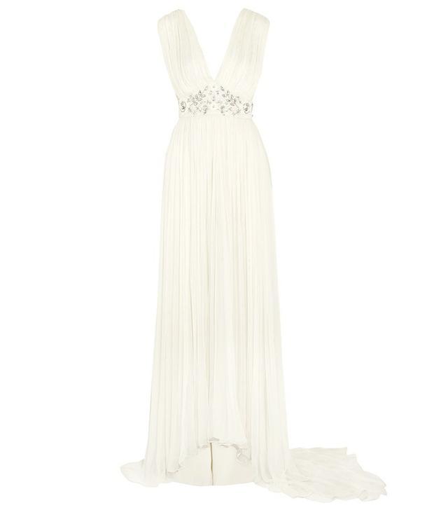 Needle & Thread Embellished Chiffon Gown