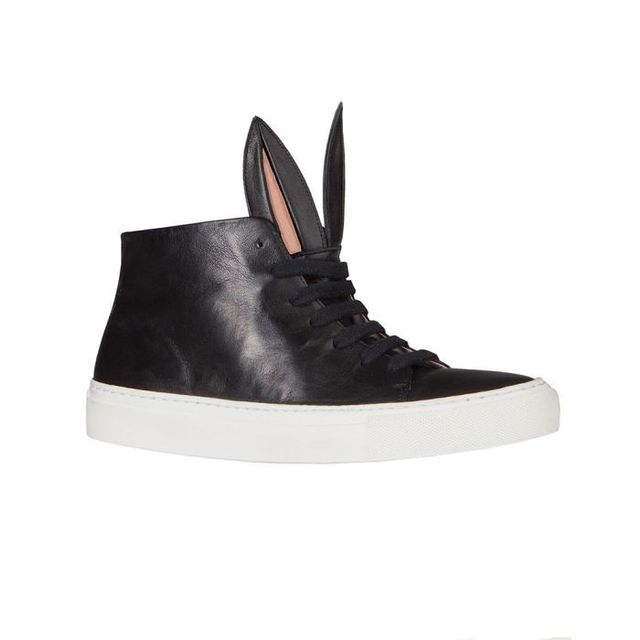 Minna Parikka Bunny Sneakers in Black