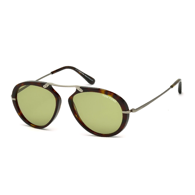 Tom Ford Aaron Trimmed Aviator Sunglasses