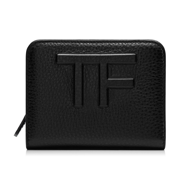 Tom Ford Small Continental Leather Zip Wallet