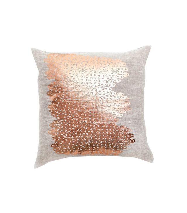 Lucky Fish Copper Evil Eye Pillow