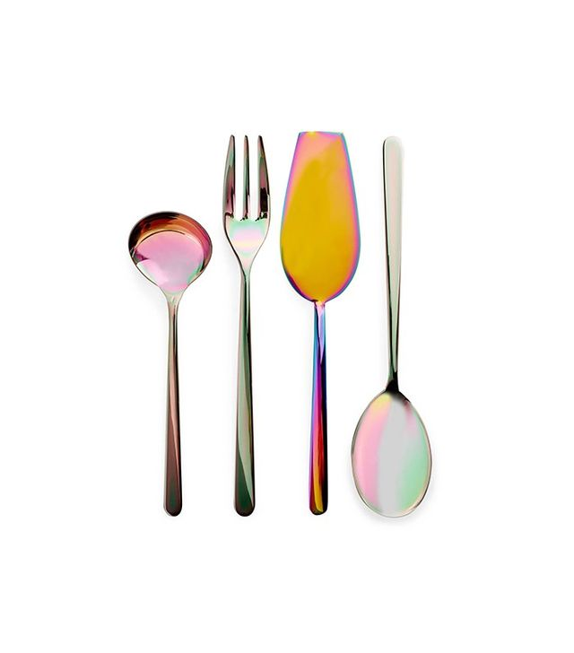 ABC Home Iridescent Serving Utensils