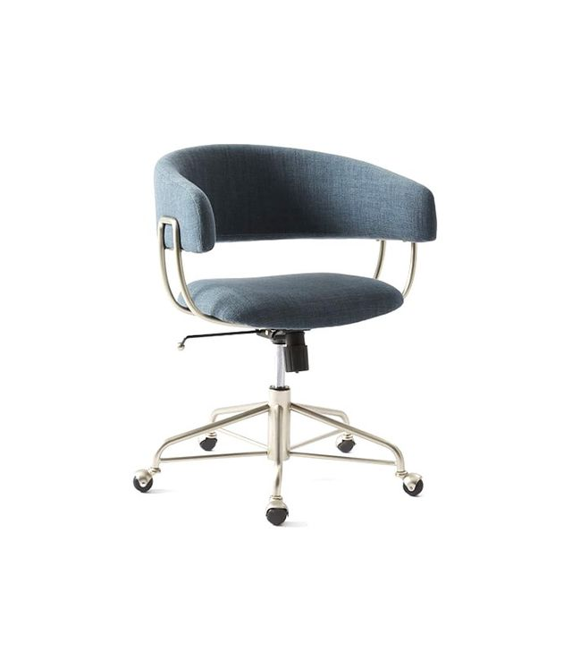 West Elm Halifax Upholstered Office Chair
