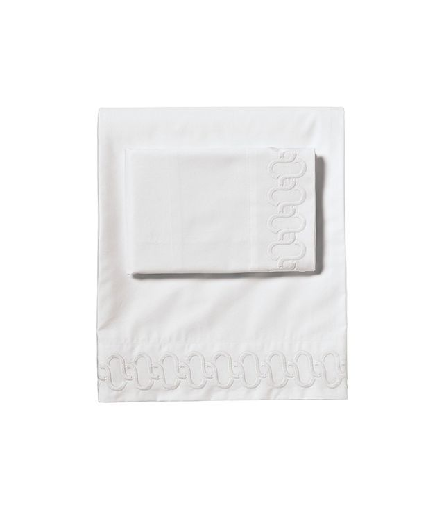 Serena & Lily Savoy Links Embroidered Sheet Set