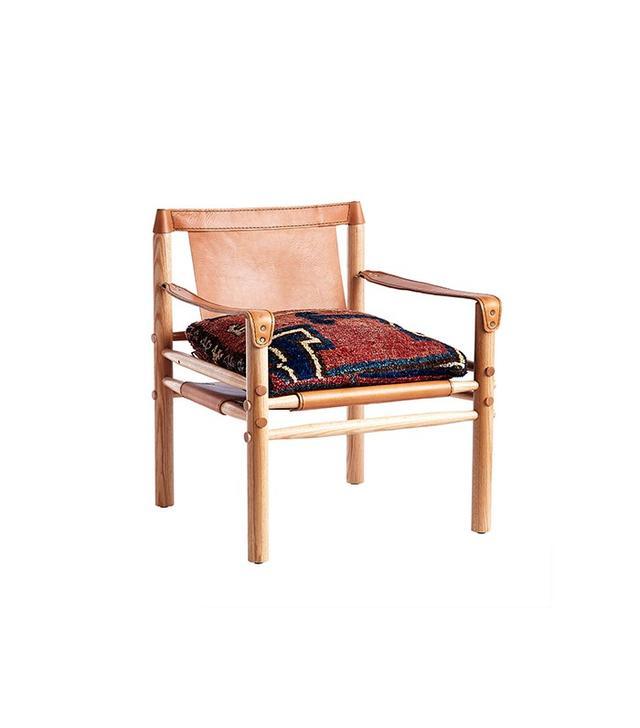 Wisteria Antique Rug Chair
