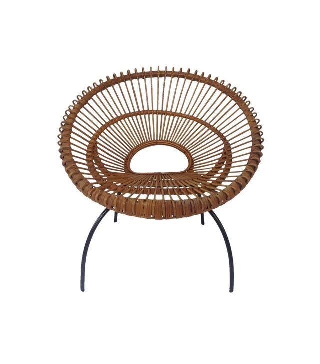 Franco Albini 1950's Italian Hoop Chair
