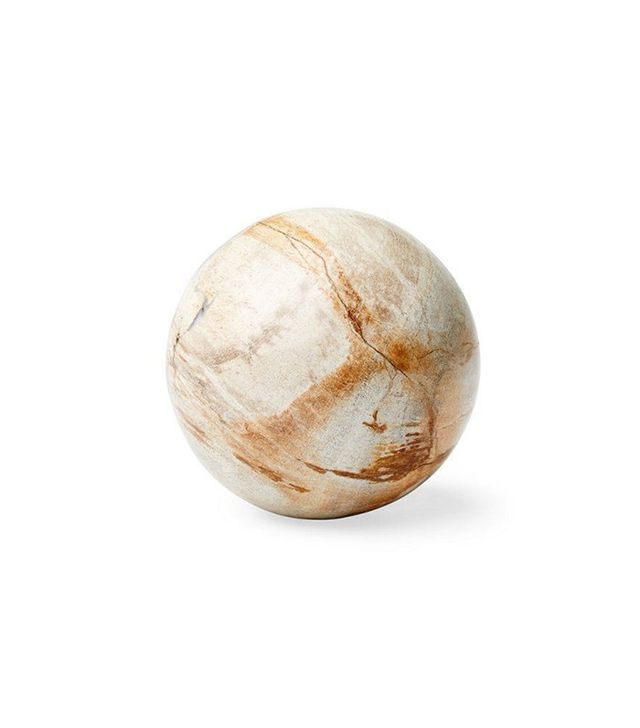 One Kings Lane Petrified Wood Sphere