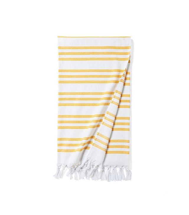 Serena & Lily Pinstriped Fouta Beach Towel