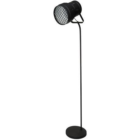 Freedom Lense Floor Light in Black