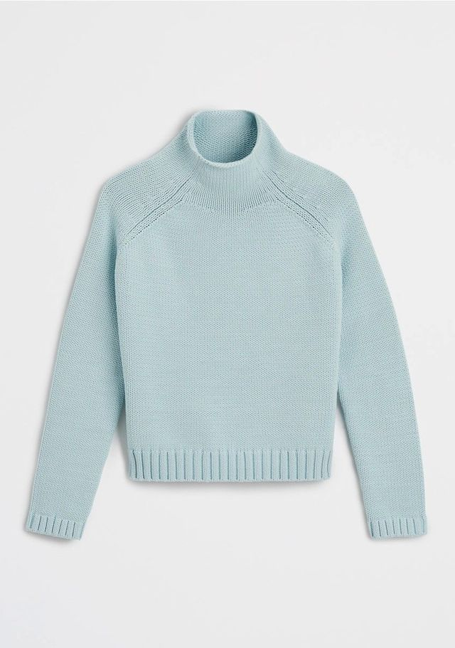 Ann Taylor Cropped Turtleneck Sweater
