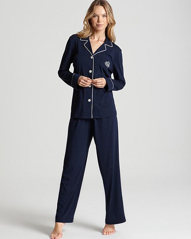 "Lauren Ralph Lauren ""Hammond"" Knits Classic Pajama Set"