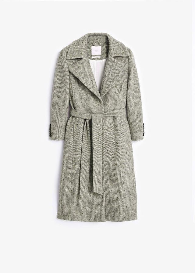 Mango Premium Long wool coat